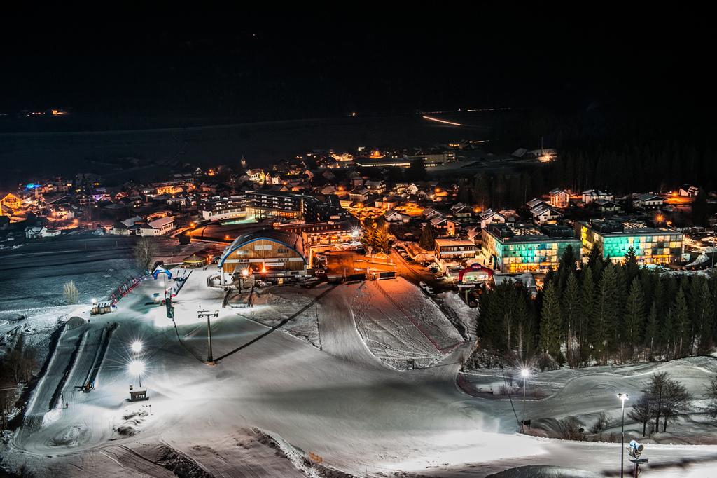 Nassfeld Nachtskilauf